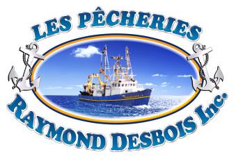LA GASPÉSIENNE NO. 51 | Logo Les Pêcheries Raymond Desbois